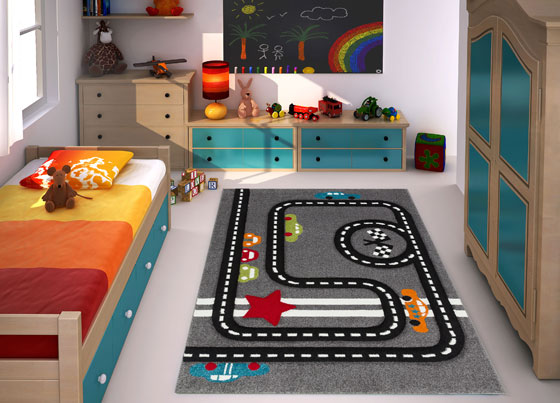 Eko Kids: Kids rugs manufactured from dust and pilling free antialergic polypropilen