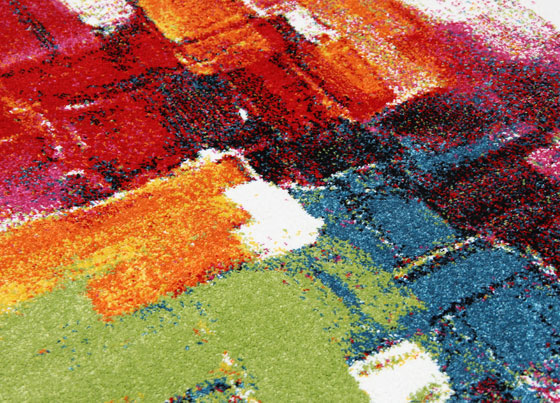 Young: Polyproplen machine made rug
