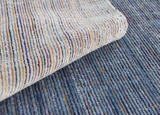 Lennon: Viscose silk and wool handloom rug