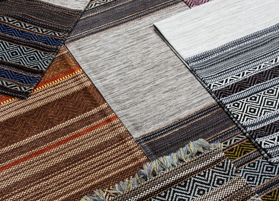 İnka: Washable, user-friendly, antibacteriel* and modern kilims