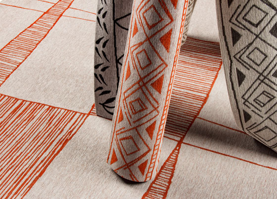 Palma : User-friendly modern rugs with cotton and polyester