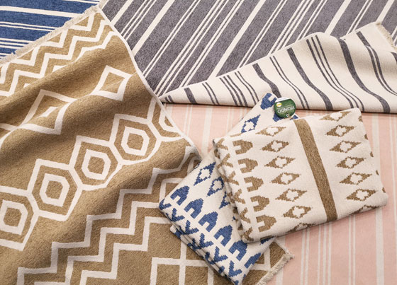 Mondo Kilim: Reversible and washable cotton kilims