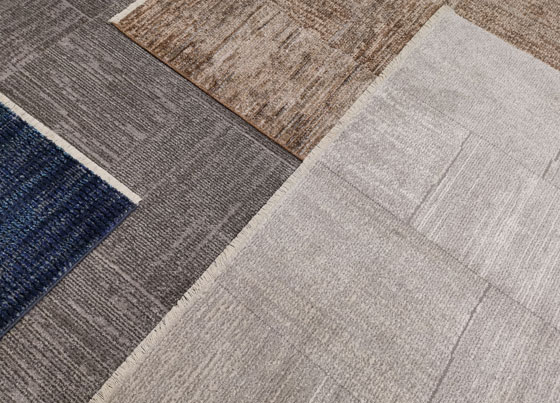 Lotto: Machine made rugs made with polypropylene