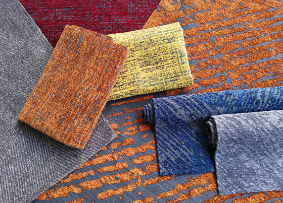 Capella: Machine made rugs that bring together sparkling colour with modern and classic patterns